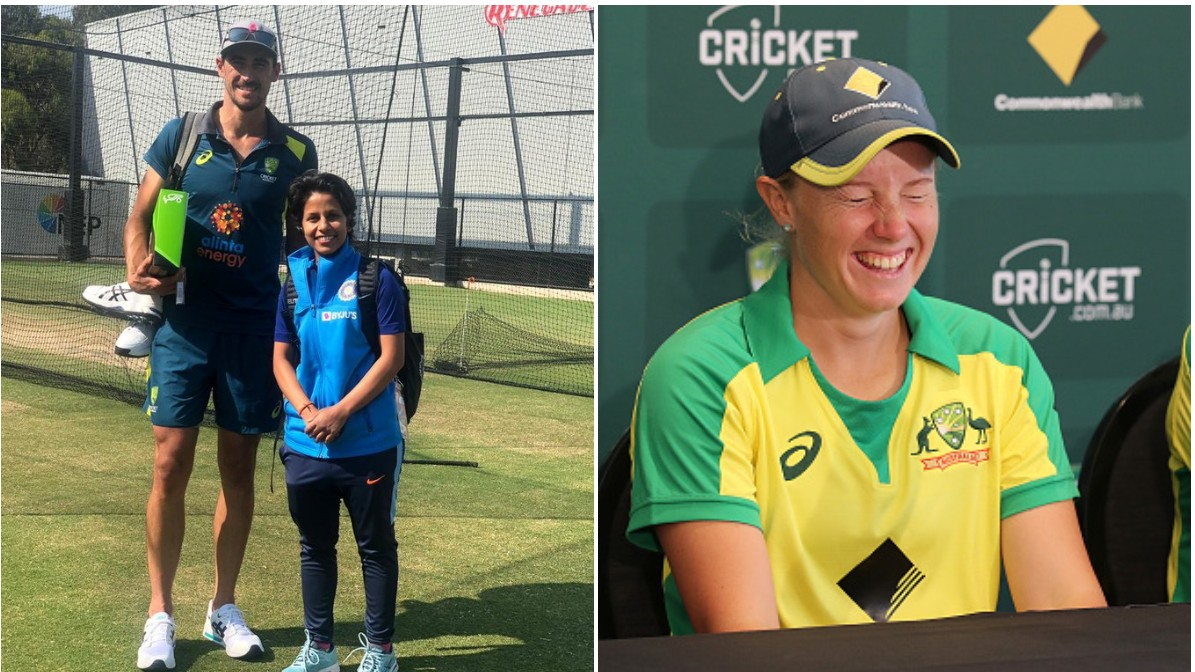 Poonam Yadav posts a funny photo with Mitchell Starc; wife Alyssa Healy responds