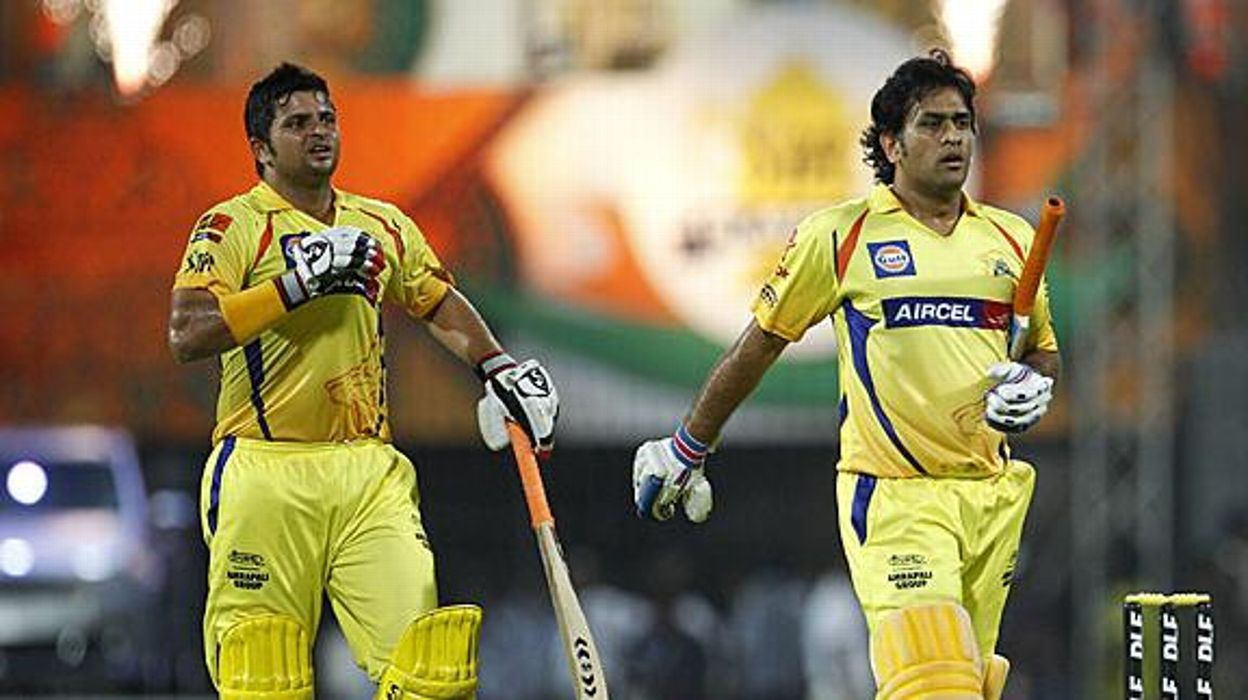 MS Dhoni and Suresh Raina will helm the CSK team