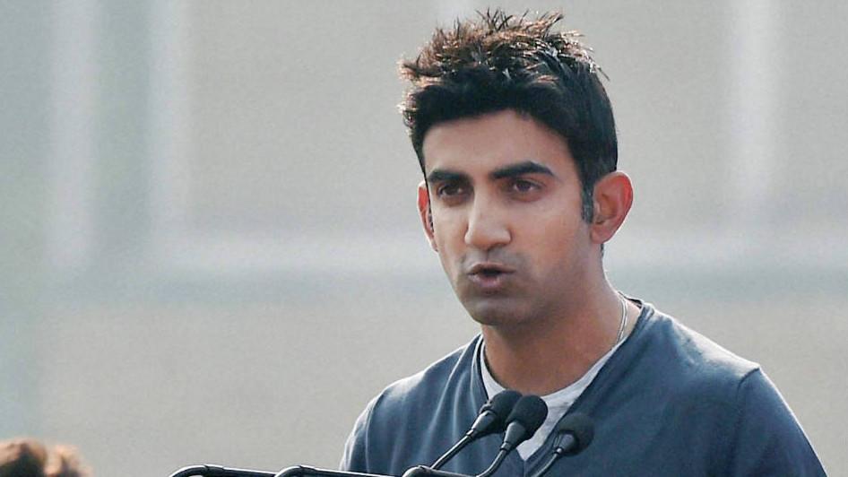 गौतम गंभीर नहीं चाहते हैं कि लोग उन्हें एक क्रिकेटर के रूप में वोट दे