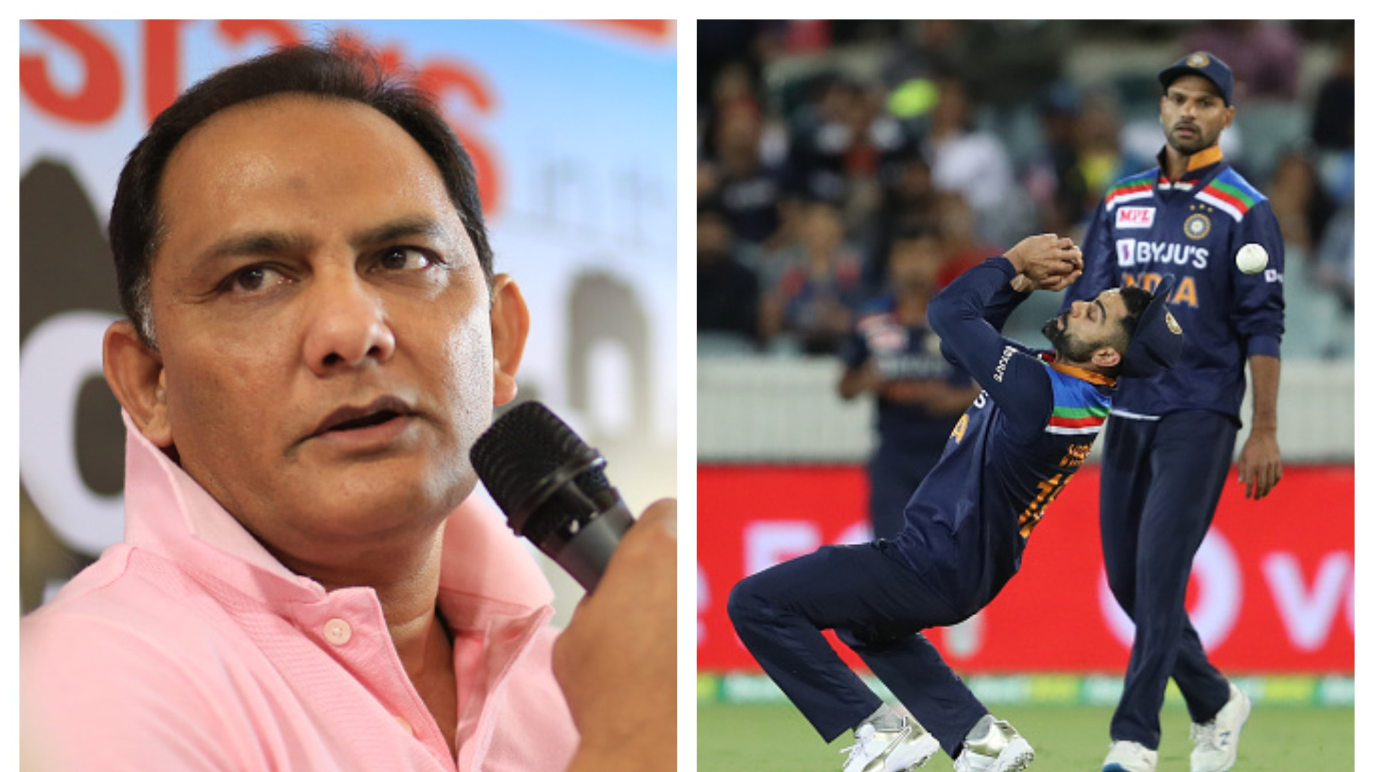 AUS v IND 2020-21: Azharuddin raises concern over India's repeated fielding errors