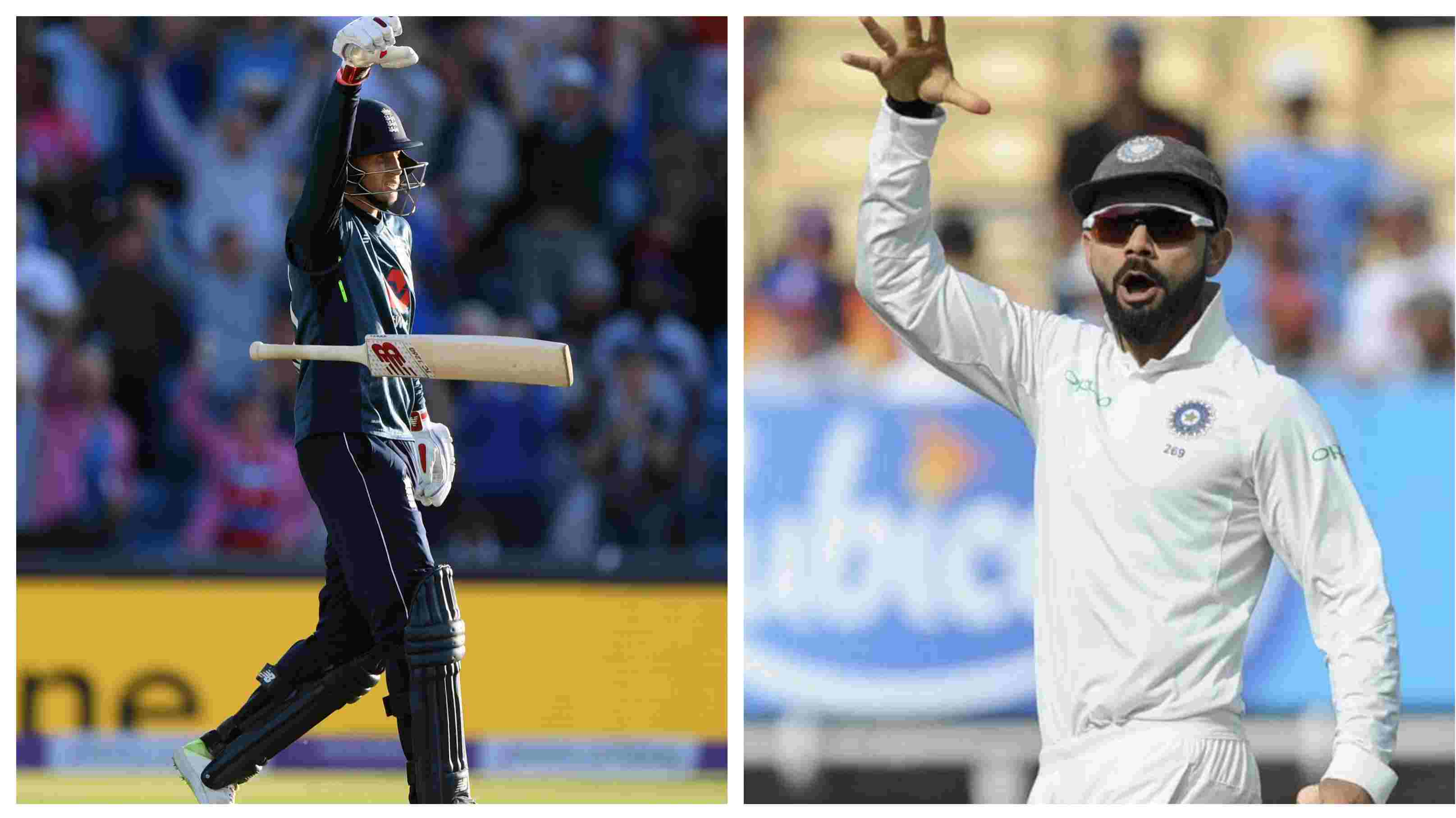 ENG v IND 2018: WATCH – Virat Kohli mocks Joe Root's 'mic-drop' celebration following his dismissal