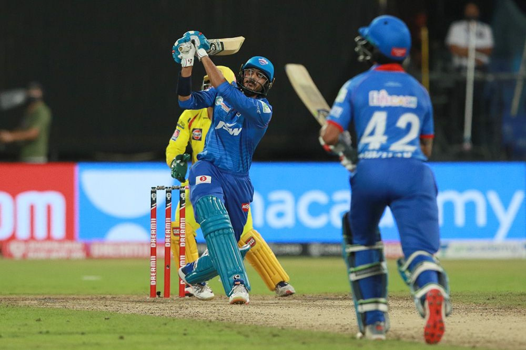 Akshar remained unbeaten on 21 off 5 balls with a strike rate of 420 | BCCI/IPL