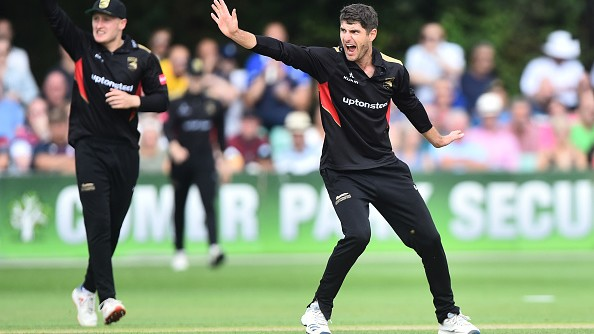 Vitality T20 Blast 2019: WATCH - Colin Ackermann sets a new T20 world record with figures of 7-18