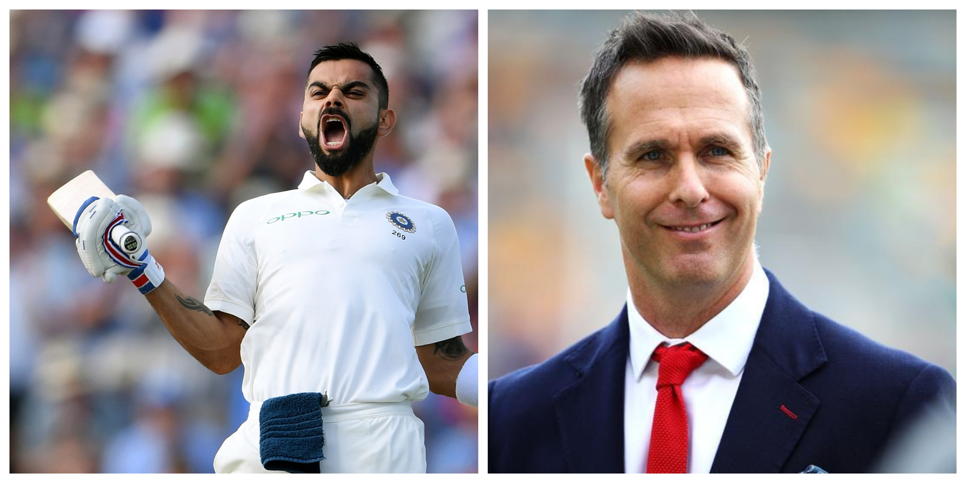 Vaughan believes Virat Kohli is the best player in the world. (Getty)