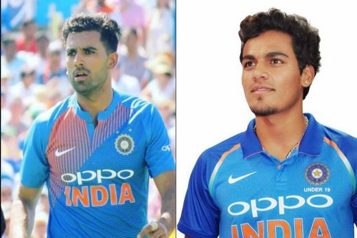 Chahar cousins Deepak and Rahul picked three wickets each to give England Lions a mighty scare