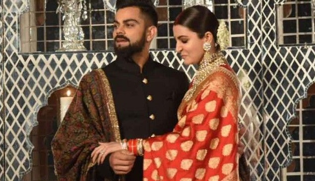 Virat Kohli and Anushka Sharma | TWITTER