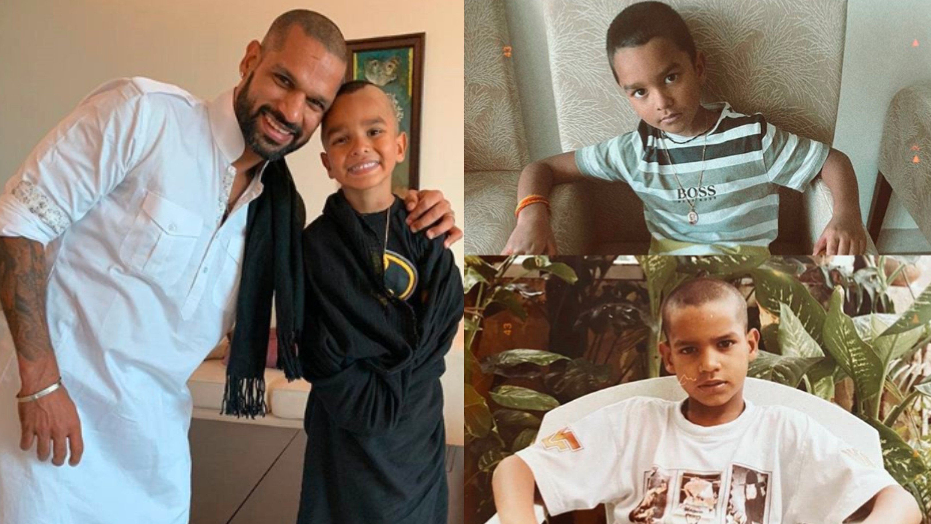 Shikhar Dhawan shares picture of duplicate Zoravar; says