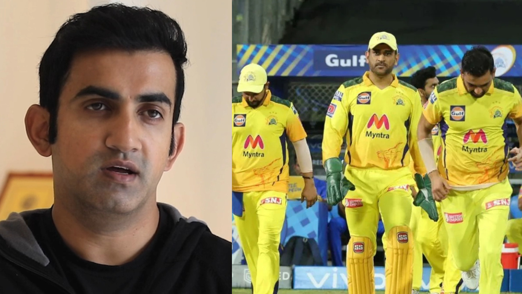 IPL 2021: Gautam Gambhir suggests MS Dhoni to work on CSK batting order