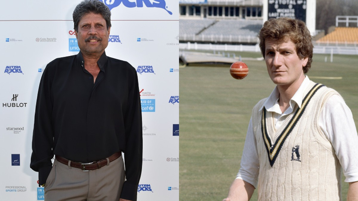 Kapil Dev describes Bob Willis as a