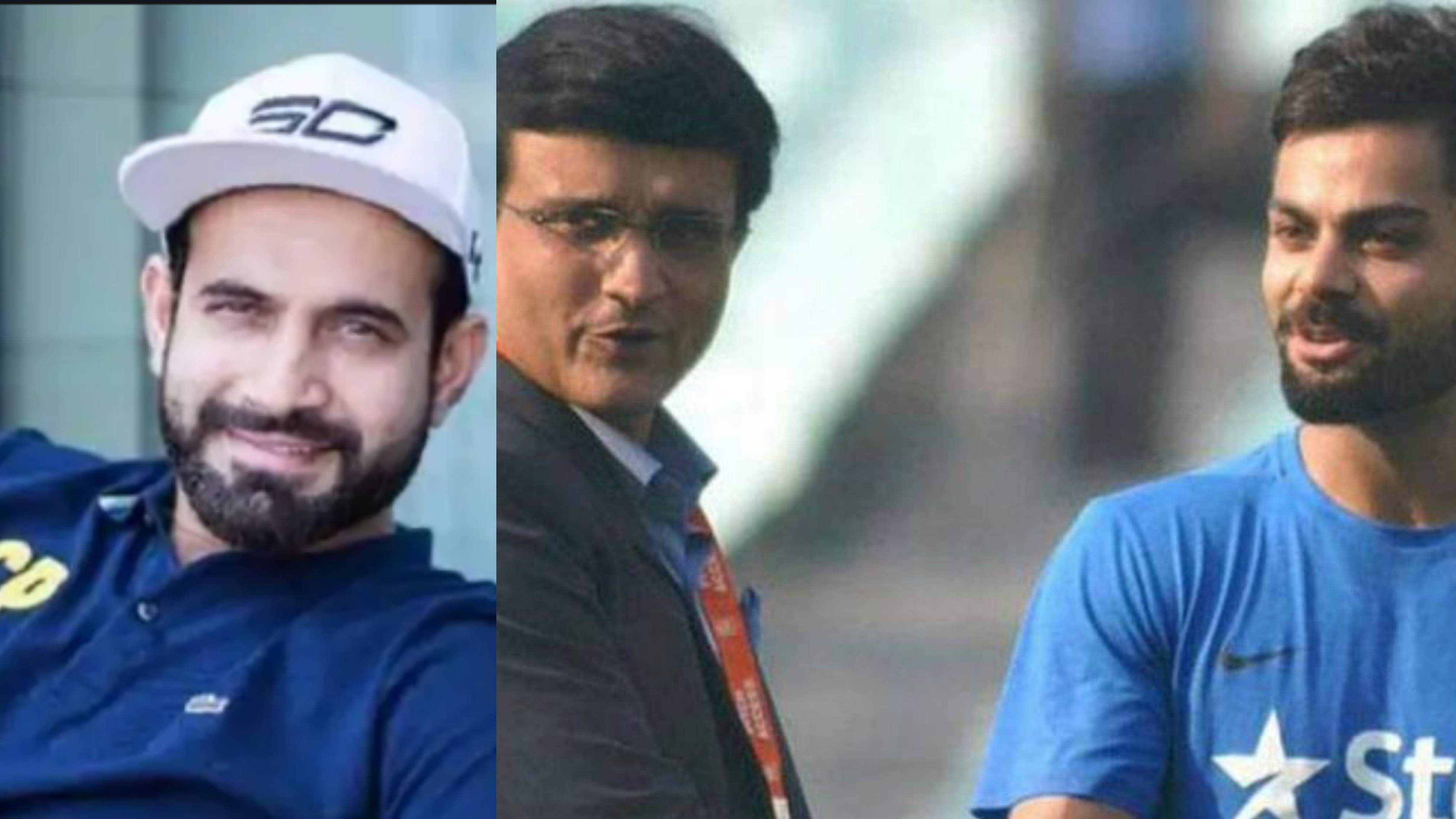 Virat Kohli's aura is as same as Sourav Ganguly's, says Irfan Pathan