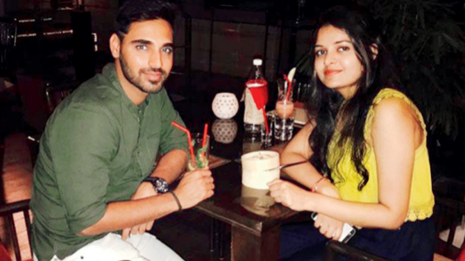Bhuvneshwar Kumar remembers a funny incident with Shikhar Dhawan's son Zoravar