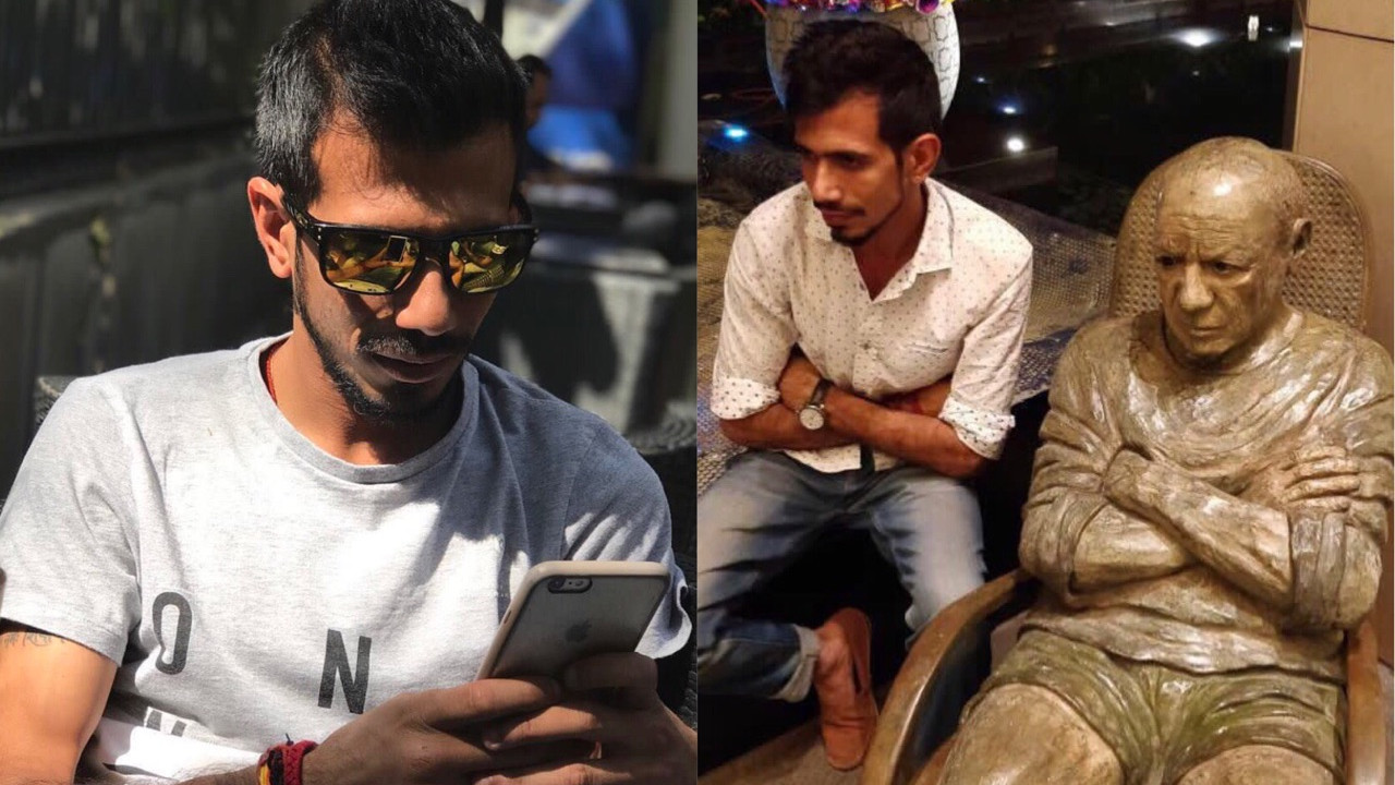 Yuzvendra Chahal caught messaging a random girl on Instagram, says