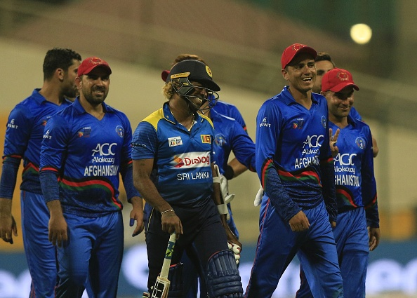 Afghanistan defeats Sri Lanka to knock them out of the Asia Cup 2018 | GETTY