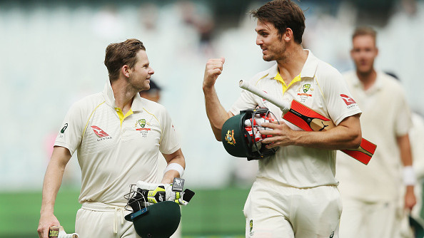 AUS v IND 2018-19: Mitchell Marsh recalls knocks played with Steve Smith ahead of India Tests