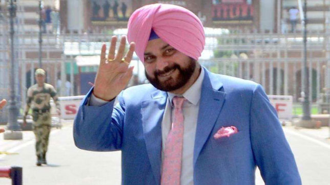 Sidhu during his recent visit to Pakistan ( Dawn)
