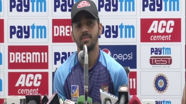 """IND v BAN 2019: """"Being a captain will help me become more responsible"""", says Mominul Haque ahead of 1st Test"""