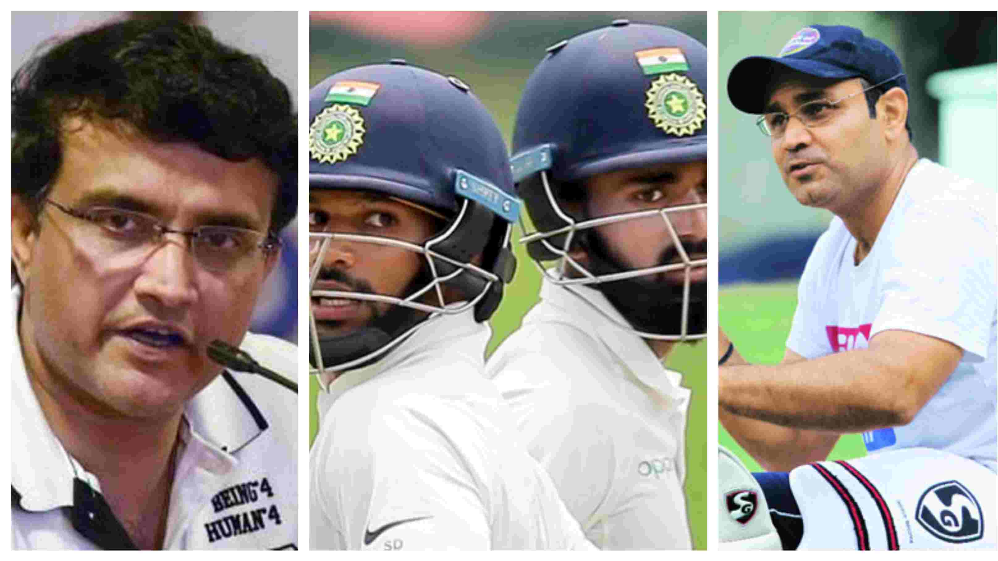 ENG v IND 2018: Sourav Ganguly and Virender Sehwag not on the same page over India's opening combination