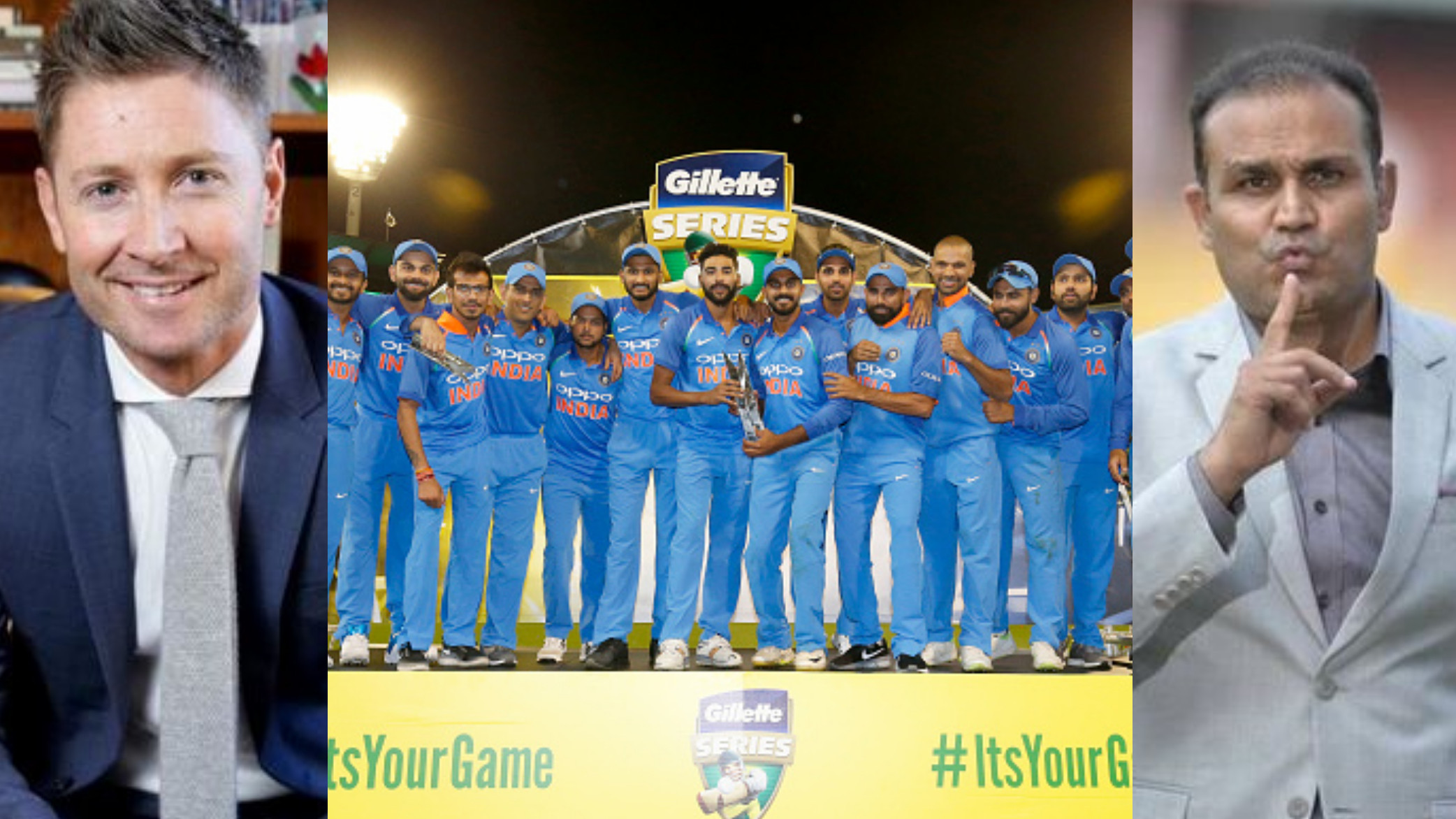 AUS v IND 2018-19: Cricket Fraternity applauds Team India for their first ever bilateral ODI series victory in Australia