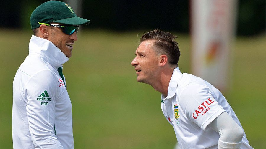 Faf du Plessis is pleased with the way Dale Steyn is shaping up ahead of the first Test. (ESPNcricinfo)