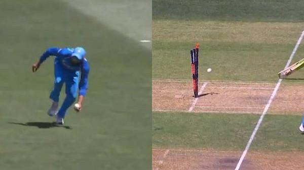 AUS v IND 2018-19: WATCH- Ravindra Jadeja pulls off a stunning run-out against Australia