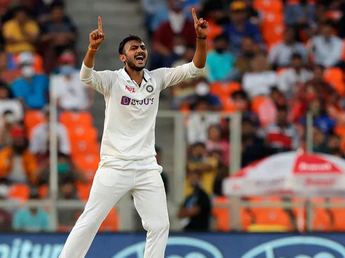 Akshar Patel picked 11/70 | BCCI