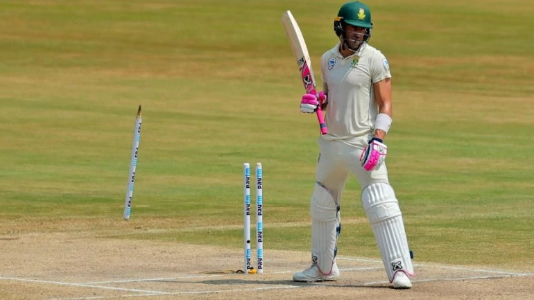 Faf du Plessis failed to lead the Proteas with the bat | AFP