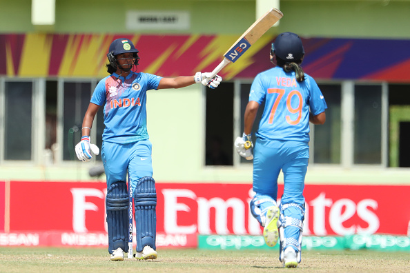 Harmanpreet Kaur's 103 is the first century by an Indian batswoman in T20I cricket | Getty