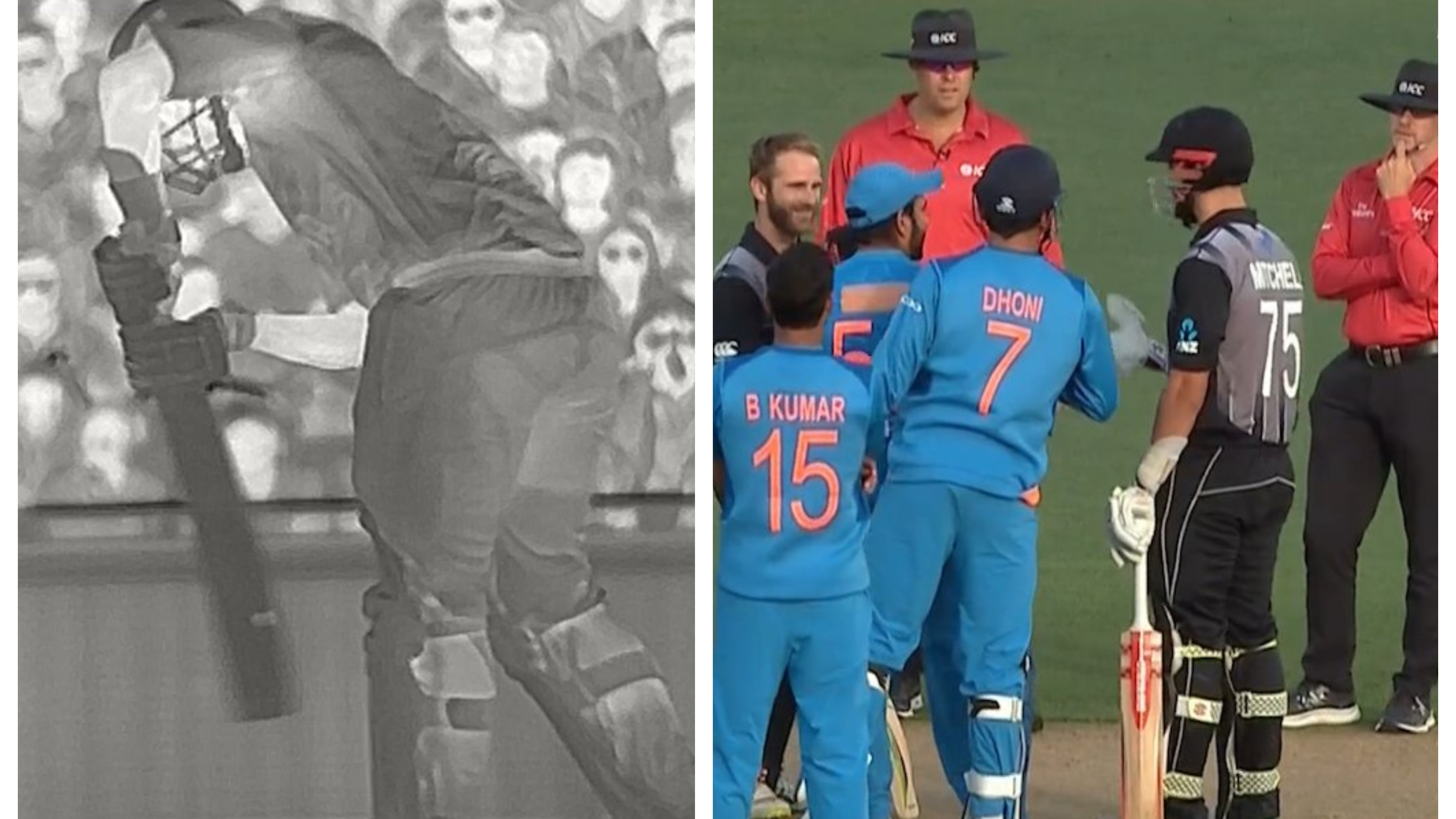 NZ v IND 2019: WATCH – Daryl Mitchell falls victim to third umpire's blunder in Auckland T20I
