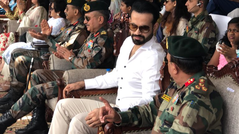 Irfan Pathan marks his presence at Indian Army's 'Baramulla Youth Festival'