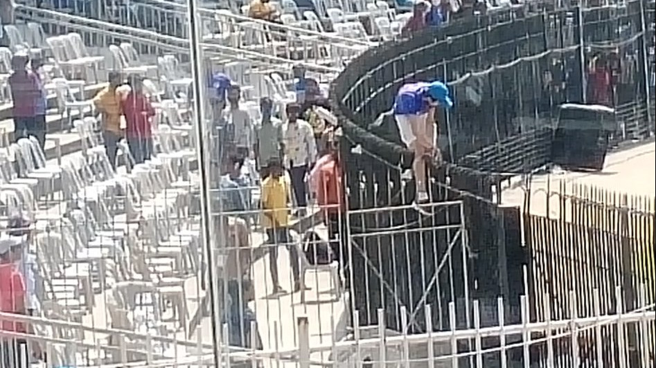 IND v ENG 2021: Young fan breaches bio-security protocols at Chepauk; gets caught by cops
