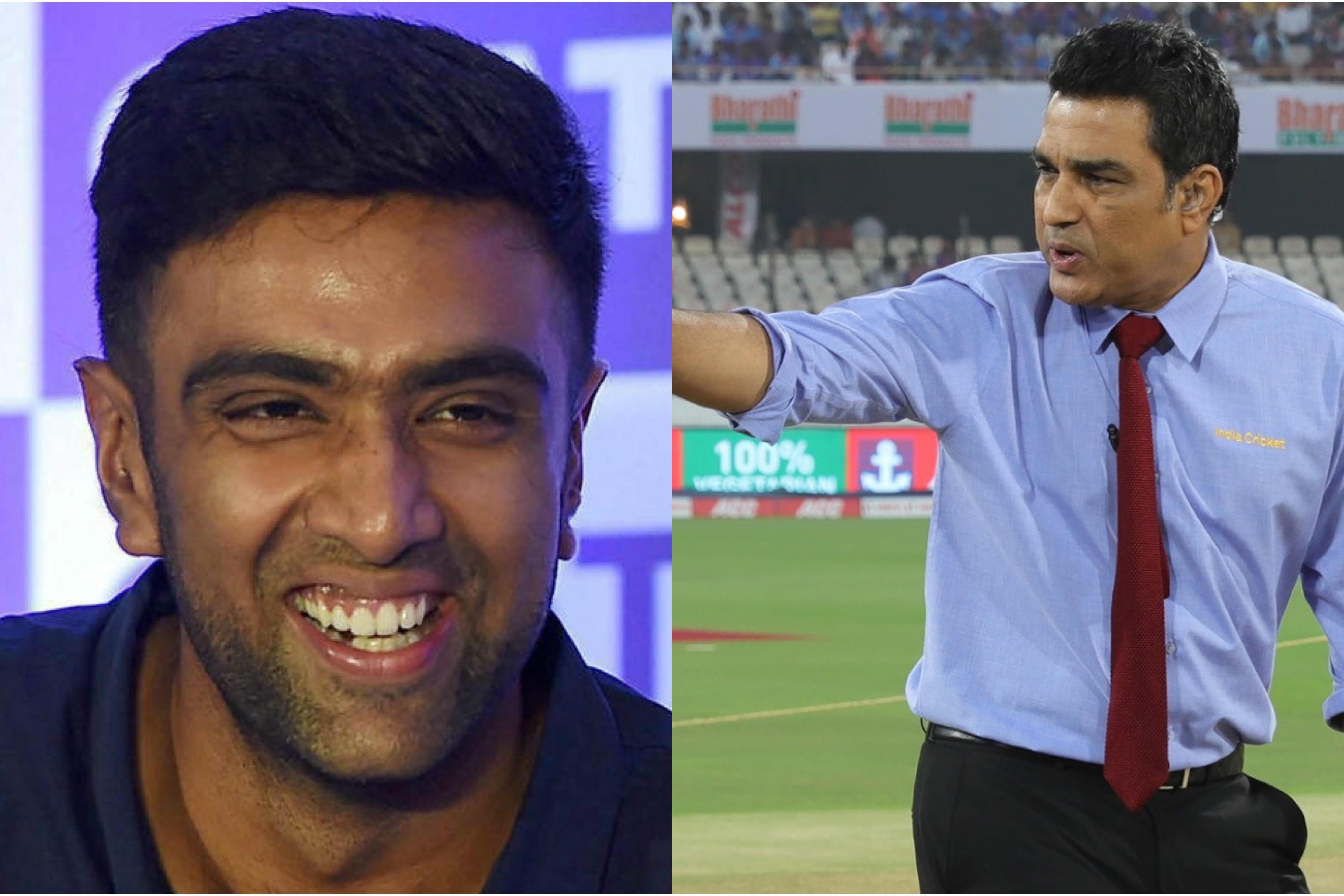 R Ashwin hilariously responds to Sanjay Manjrekar's comments