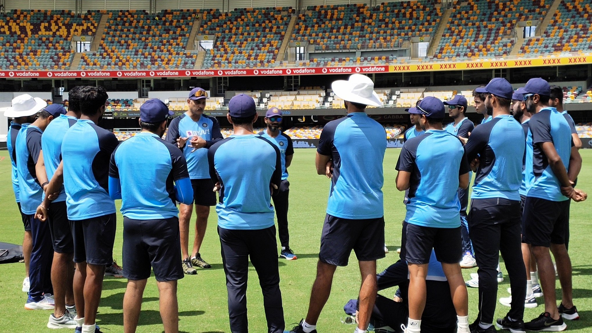 AUS v IND 2020-21: PICS- Team India trains at Gabba, Brisbane amidst injury concerns