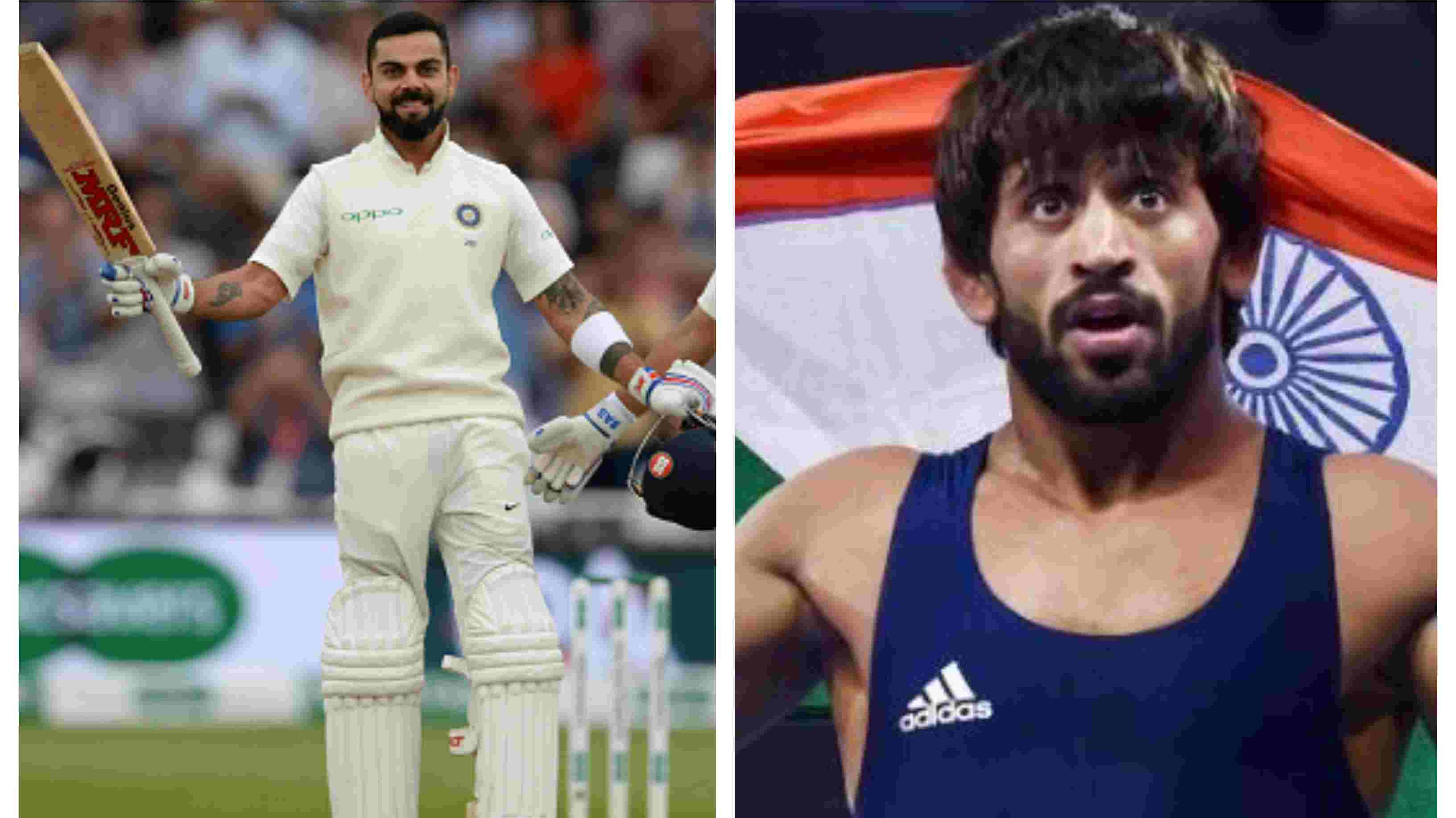 Sports Ministry explains why Virat Kohli was preferred for Khel Ratna over Bajrang Punia