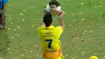 MS Dhoni believes Ziva, his daughter has changed him as a person