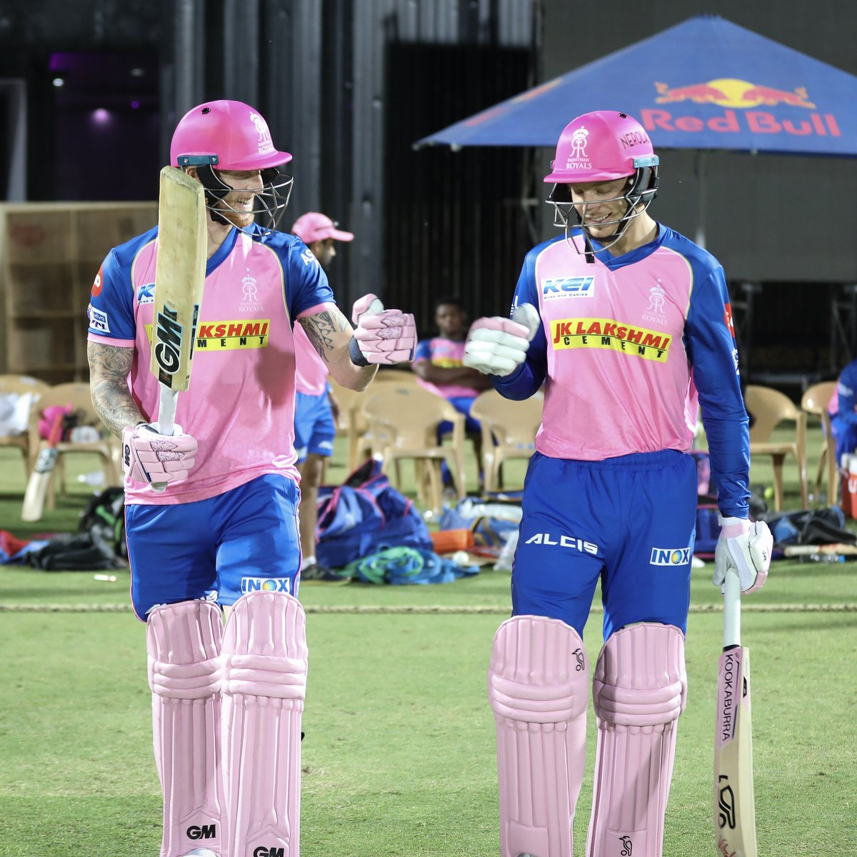 Jos Buttler and Ben Stokes | Rajasthan Royals/Twitter