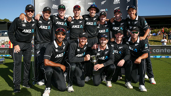 New Zealand topple England as top-ranked ODI side after annual update to ICC Men's Team Rankings