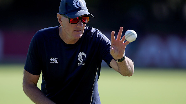 Grant Bradburn leaves Scotland to join Pakistan set-up as fielding coach