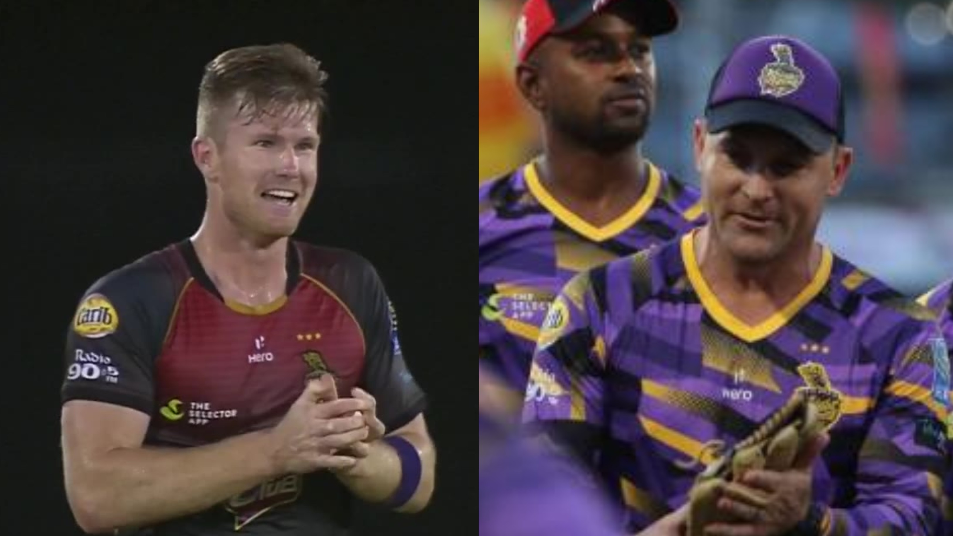 Brendon McCullum and James Neesham hilariously troll each other on Twitter