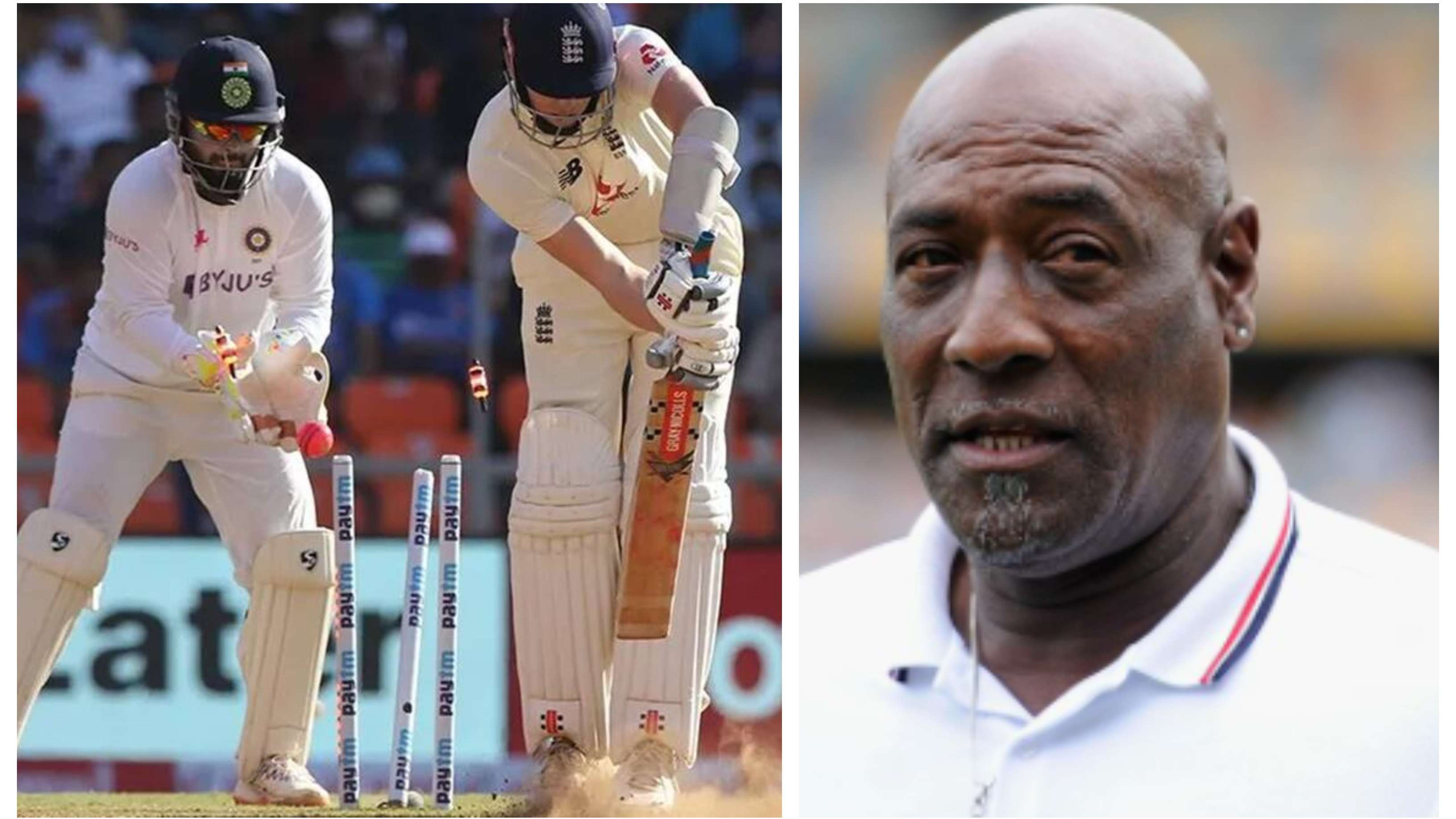 "IND v ENG 2021: Sir Vivian Richards slams England for ""moaning and groaning"" about the pitches"