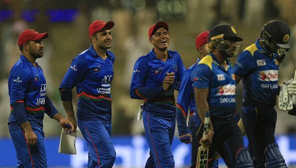 Afghanistan knocked Sri Lanka out of the tournament with a win by 91 runs | Getty