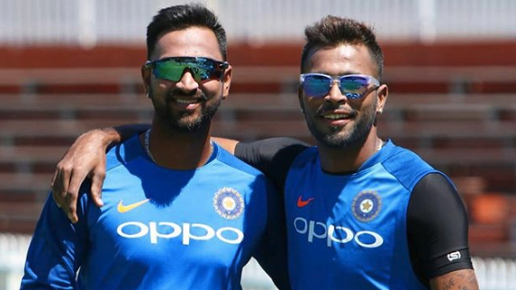 NZ v IND 2019: Hardik Pandya and Krunal Pandya achieves rare feat in Wellington