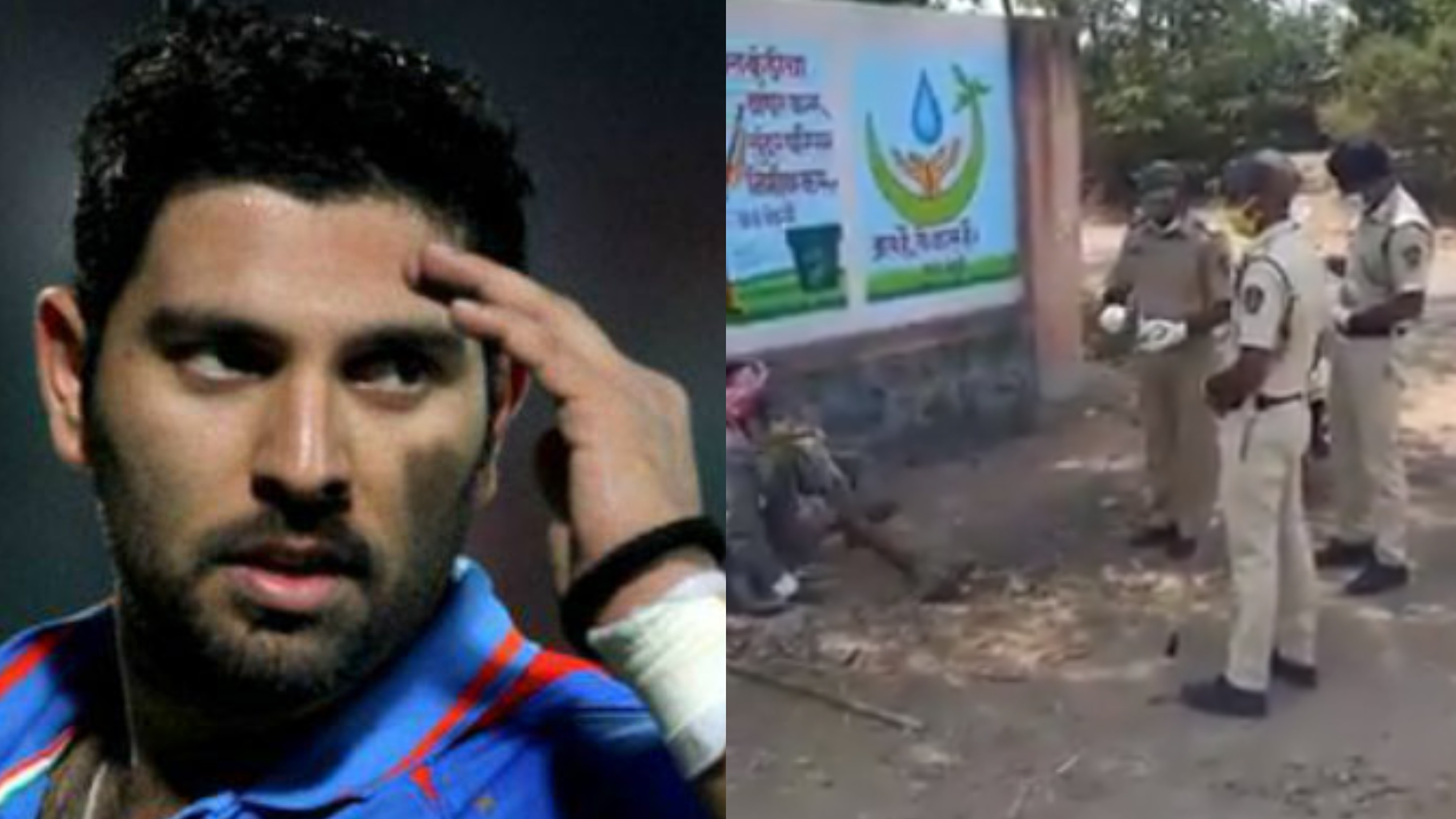 Yuvraj Singh applauds policemen for their heartwarming gesture amid COVID-19 lockdown