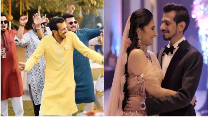 WATCH - Yuzvendra Chahal and Dhanashree Verma release their wedding film on YouTube