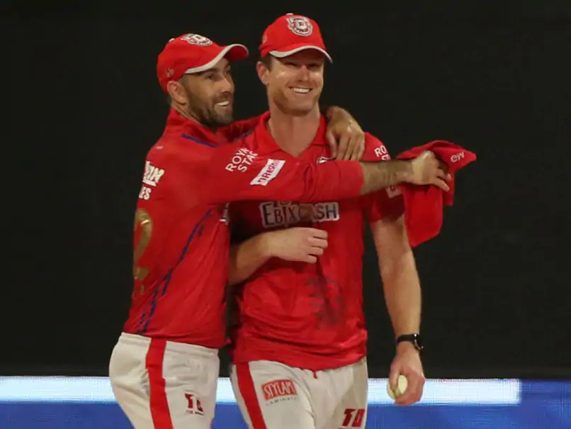 Neesham and Maxwell have been teasing one another on social media recently | BCCI