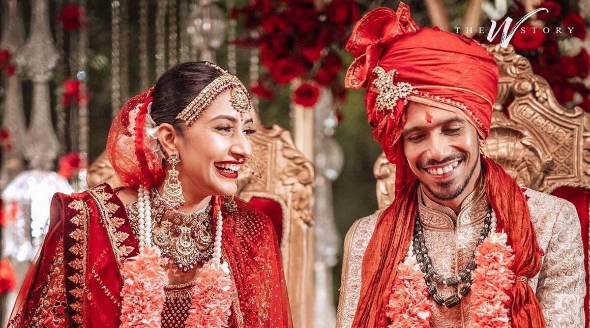 युजवेन्द्र चहल और धनश्री वर्मा। Instagram