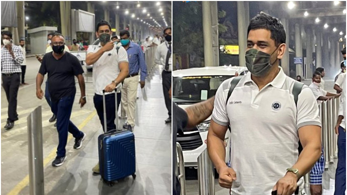 IPL 2021: WATCH - MS Dhoni arrives in Chennai to begin preparation with CSK