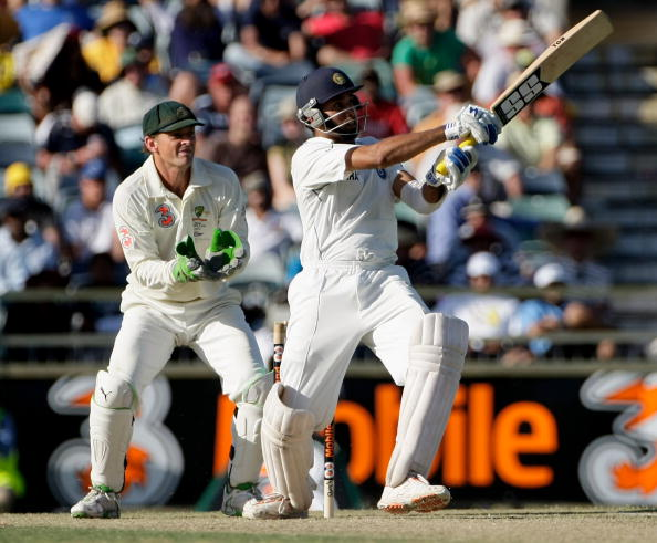 VVS Laxman was the star with the bat in Perth Test for India | Getty