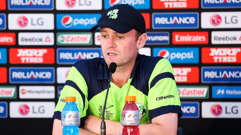 William Porterfield to lead Ireland in their first ever Test match against Pakistan