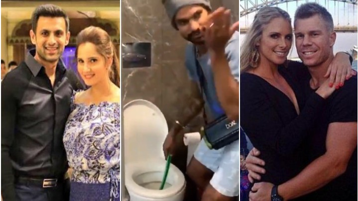 David Warner and Shoaib Malik relate to Shikhar Dhawan's hilarious clothes washing video