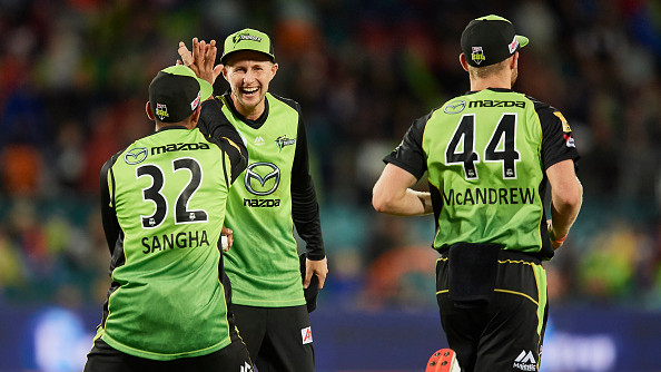 BBL 2018-19: Jason Sangha over the moon after batting with his idol Joe Root for Sydney Thunder